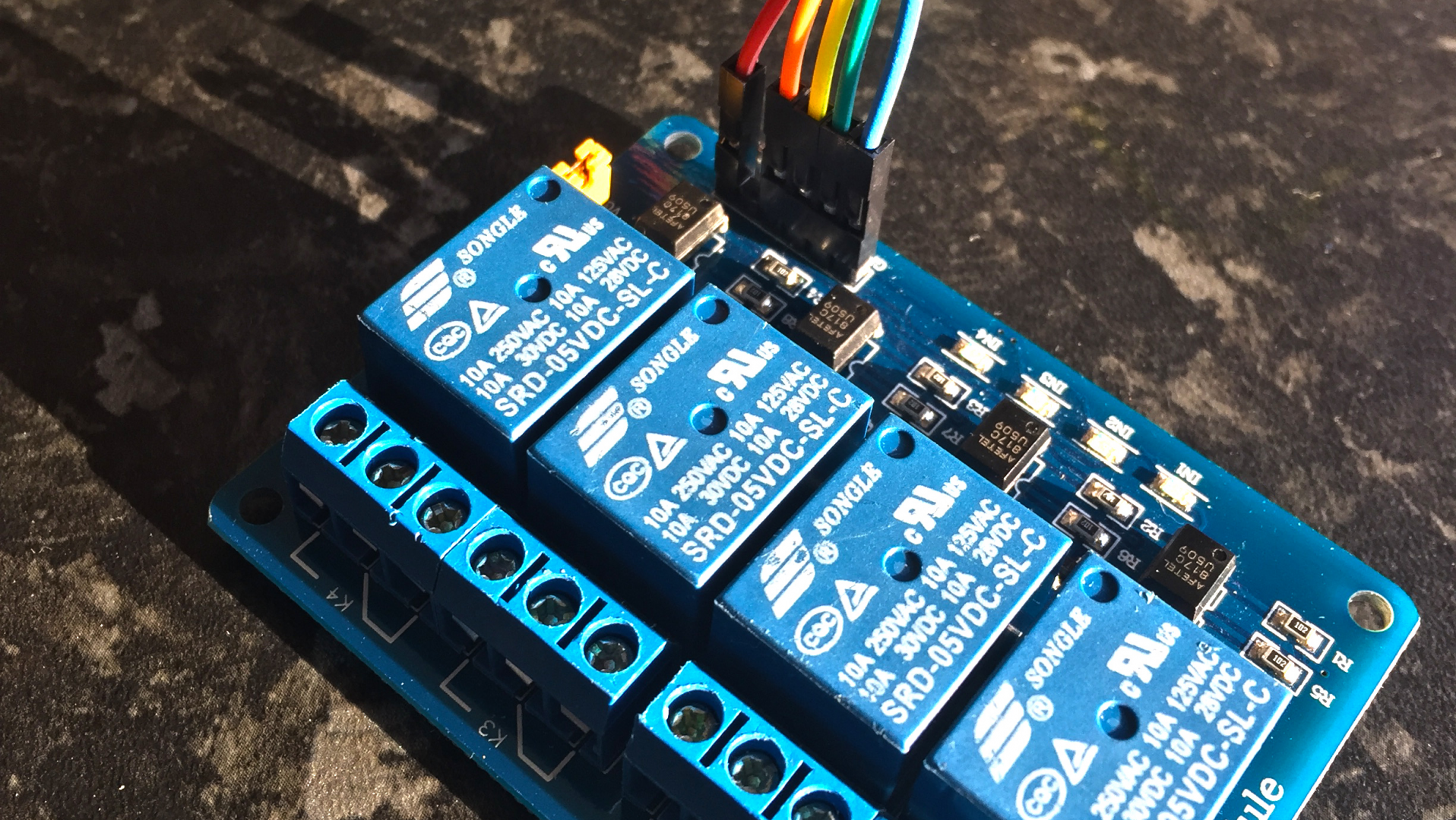 The Arduino relay module