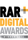 RAR Digital Awards Winner 2016