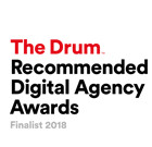 The Drum Recommended Digital Agency Awards Finalist 2018